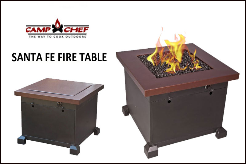 Santa Fe Fire Table
