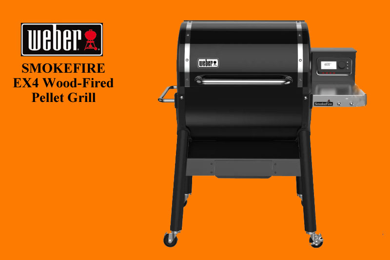 EX4 Wood-Fired Pellet Grill