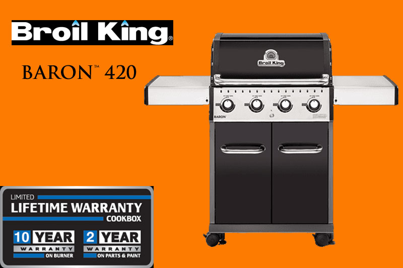 Baron 420 Gas Grill Two-Door