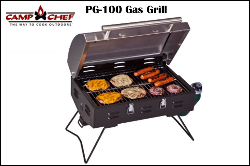Dinner on the Grill of the PG-100