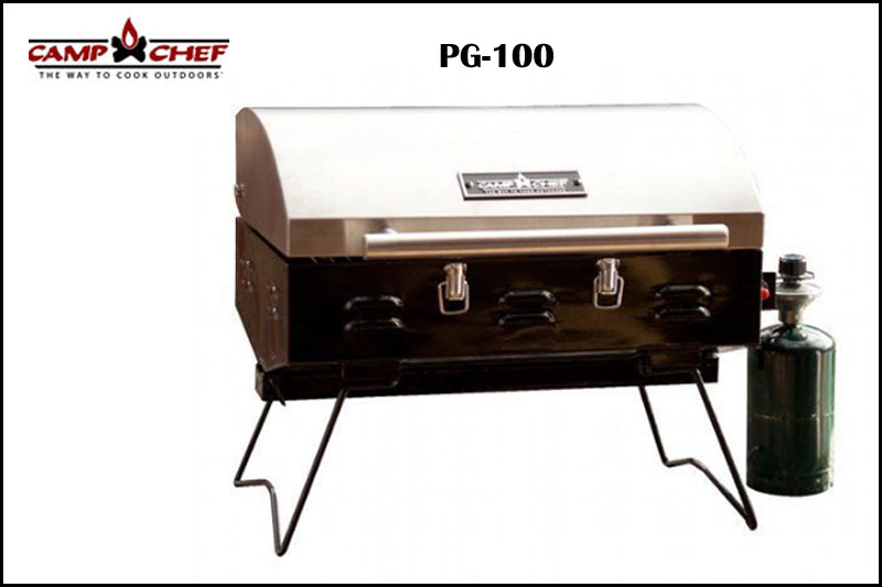 Camp Chef Portable Grill Closed Lid