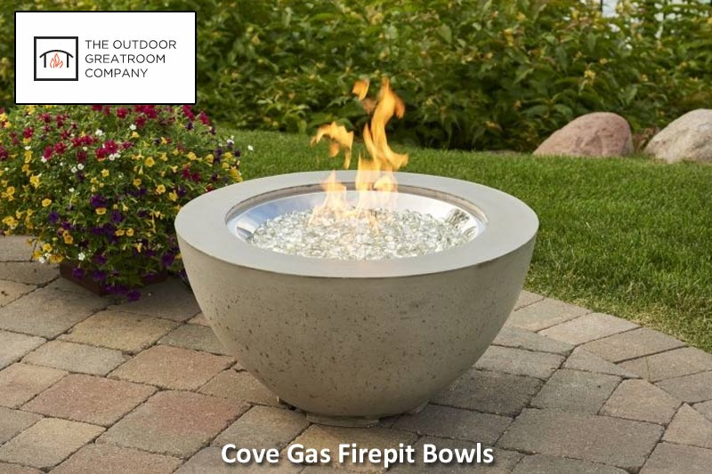 Cove Gas Fire Pit Bowl