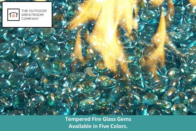 Fire Glass Gems