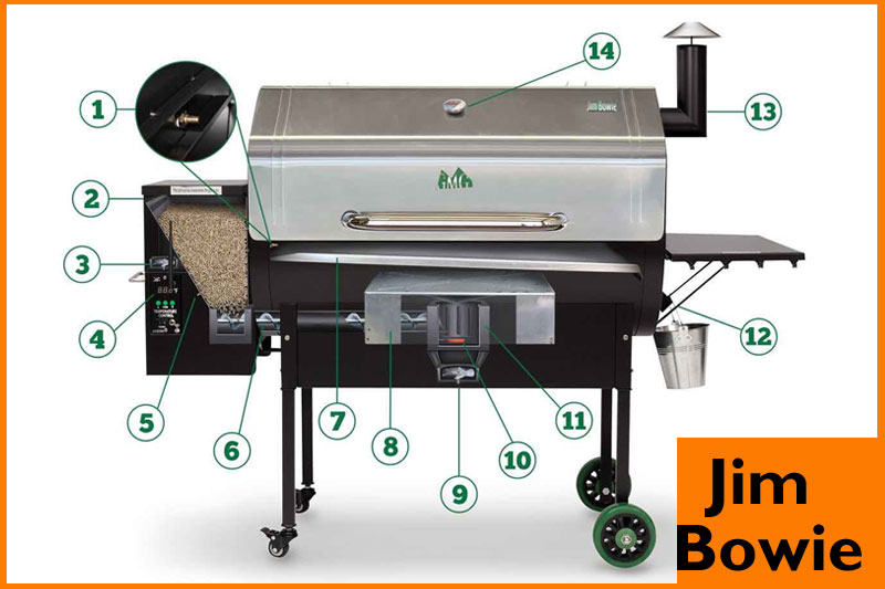 Jim Bowie Wood Fired Grill