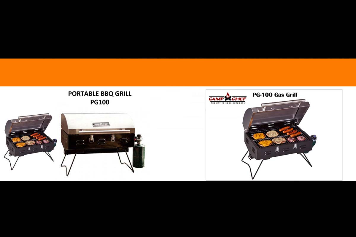 Camp Chef Grill and Fire Pit Table