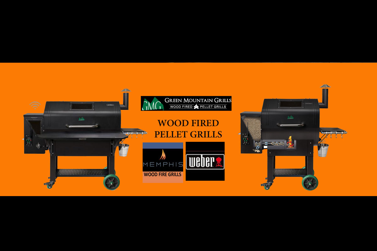 Green Mt. Wood-Fired Pellet Grills